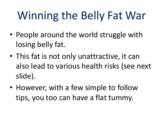 Now Get Rid Of Belly Fat Naturally