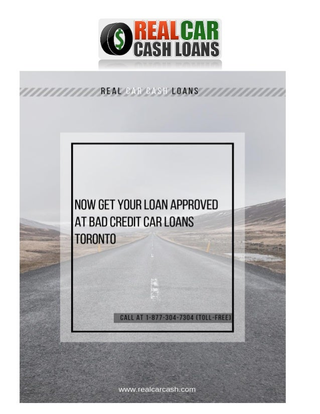 Loans For Really Bad Credit >> Now Get Your Loan Approved At Bad Credit Loans Toronto