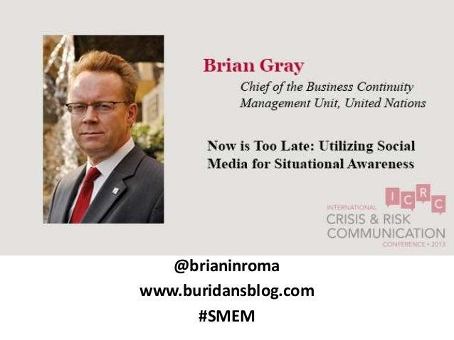 @brianinromawww.buridansblog.com      #SMEM