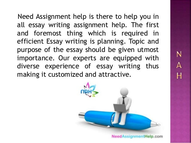 Writing assignment help canada