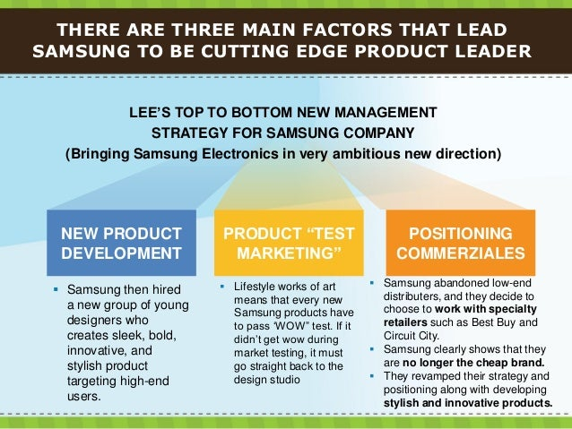 how was samsung able to go from copycat brand to product leader Samsung is so much more than a smartphone-maker it is a conglomerate, a manufacturer, and the world's largest chip-maker it makes many of the components that go into its smartphones giving it a.
