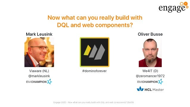 Now what can you really build with DQL and web components?