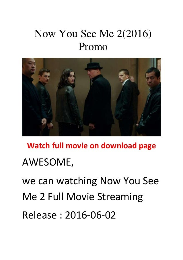 can you see me 2 full movie download
