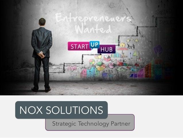 NOX SOLUTIONS Strategic Technology Partner
