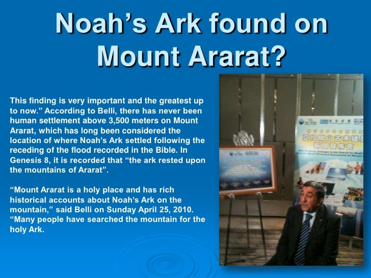 Image result for 2010 Hong Kong Press conference announcing the finding of Noah's Ark