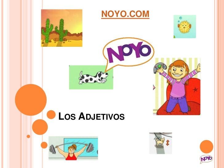 NOYO.COMLOS ADJETIVOS