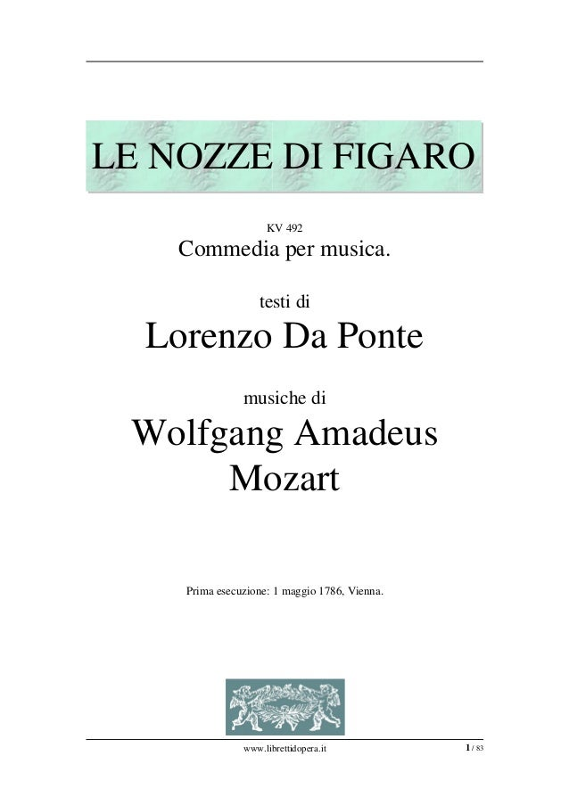 LENOZZEDIFIGARO                    KV492    Commediapermusica.                   testidi  LorenzoDaPonte         ...