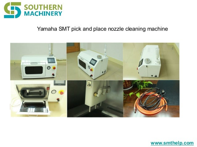 www.smthelp.com Yamaha SMT pick and place nozzle cleaning machine