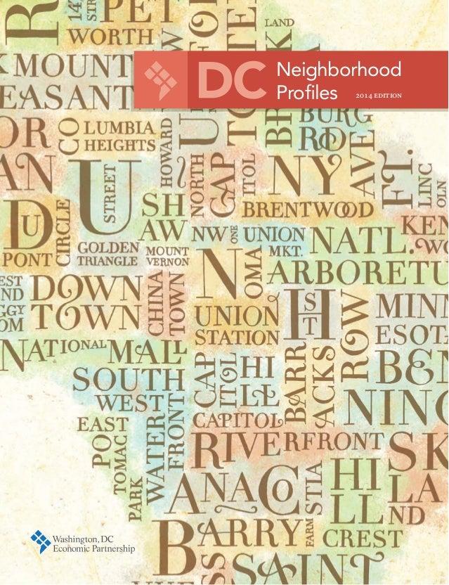 Neighborhood Profiles 2014 edition