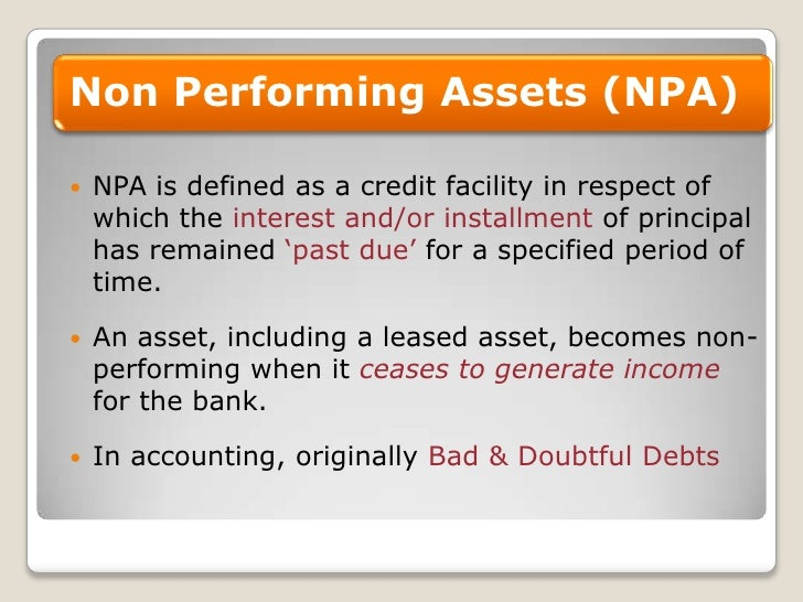 Details of NPA figures of public, private sector banks