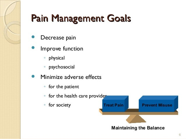 The Nurse Practitioner Role in Increasing Access to Pain Care