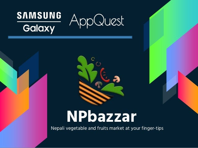 NPbazzarNepali vegetable and fruits market at your finger-tips