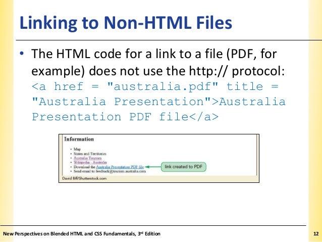 Html Link File Pdf