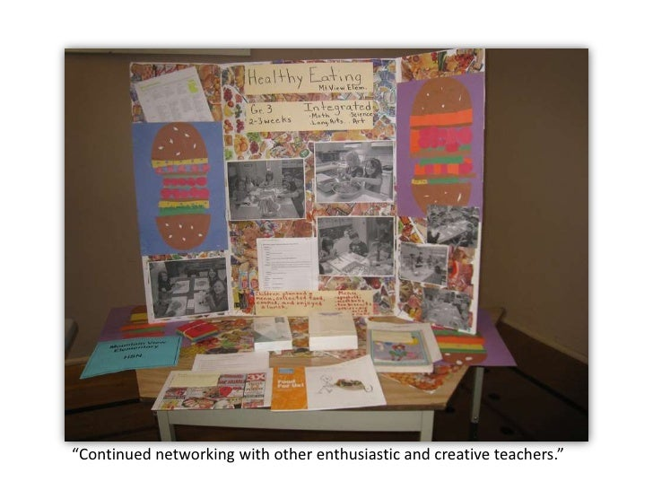 """""""Continued networking with other enthusiastic and creative teachers."""" <br />"""