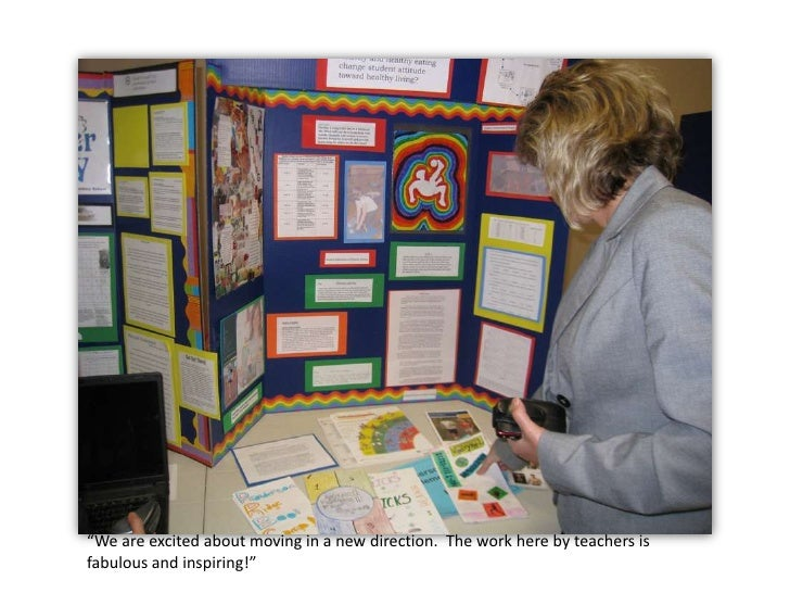 """""""We are excited about moving in a new direction.  The work here by teachers is fabulous and inspiring!""""<br />"""