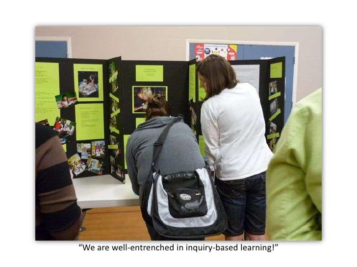 """""""We are well-entrenched in inquiry-based learning!""""<br />"""