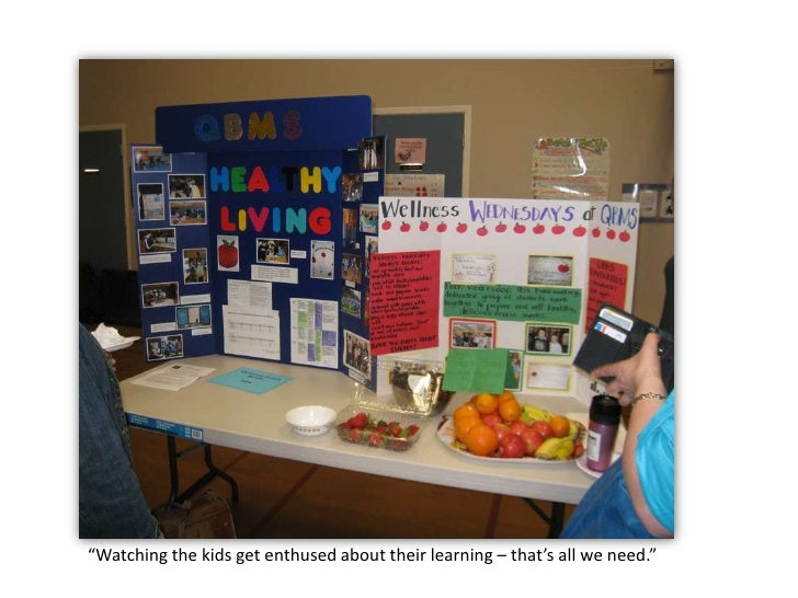 """""""Watching the kids get enthused about their learning – that's allwe need.""""<br />"""