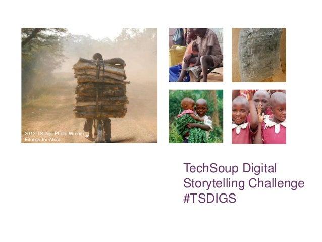 2012 TSDigs Photo Winner,Fitness for Africa                            TechSoup Digital                            Storyte...
