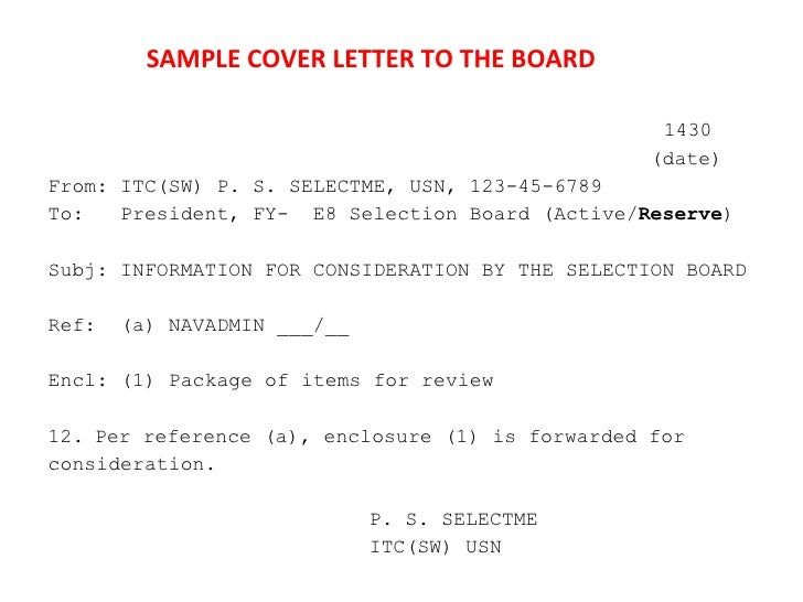 Npc fy11 e9 and e8 selection board brief sample cover letter to the board spiritdancerdesigns Choice Image