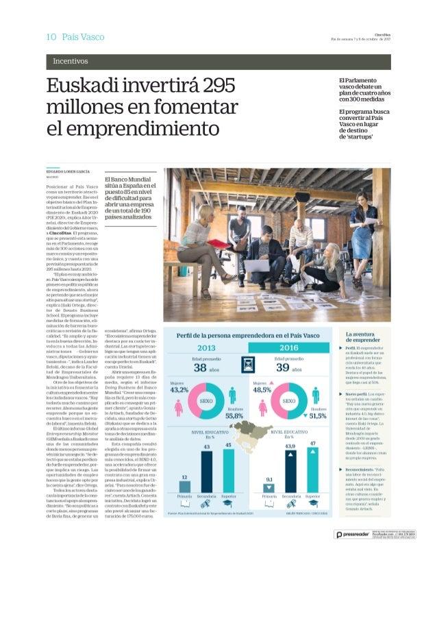 Cinco dias 2017 10 07 emprendimiento pais vasco
