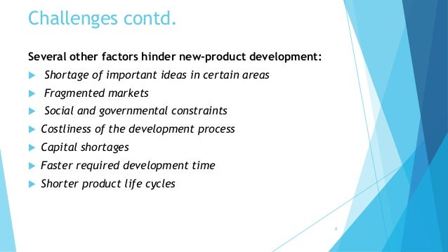 factors that hinder new product development Organisation for economic co -operation and development  understand and to help governments respond to new  innovation and growth.