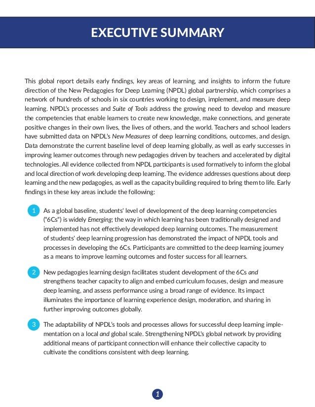 2 THE NPDL GLOBAL PARTNERSHIP New Pedagogies for Deep Learning (NPDL) is a global partnershipdedicated to identifying new...