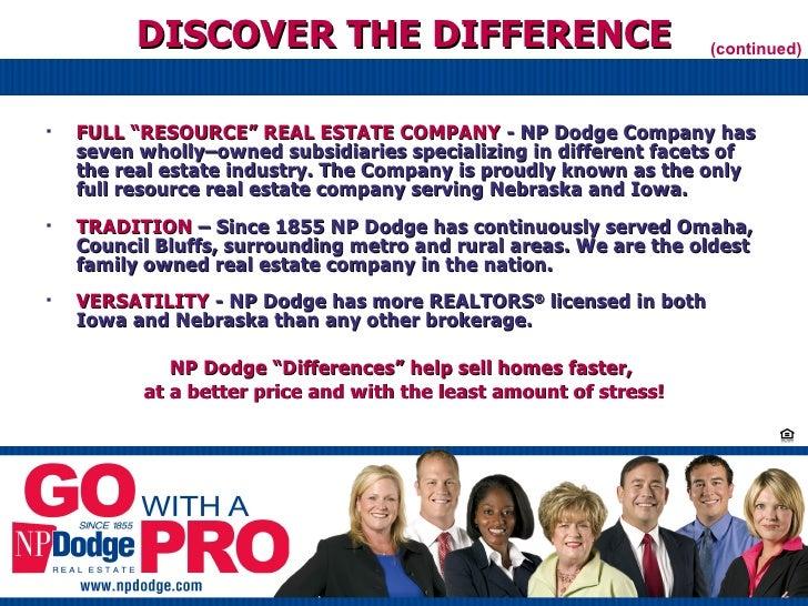 Np Dodge Real Estate Orientation