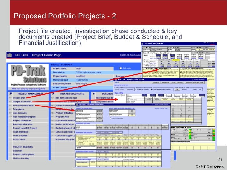 Proposed Portfolio Projects - 2 <ul><li>Project file created, investigation phase conducted & key documents created (Proje...