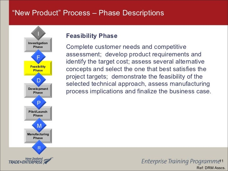 """feasibility plan of a new product The term """"feasibility study"""" is often used in context of product development processes feasibility studies focus on five subjects: technical, economic, legal, operational and scheduling ."""