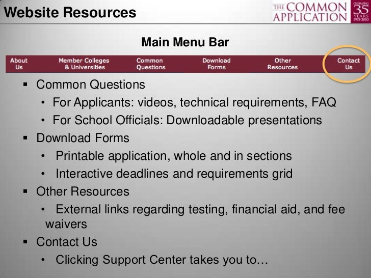 image relating to Common Application Printable known as Being familiar with the Well known Program: A Toolkit for Ideas