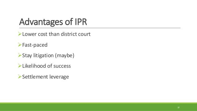 ipr estoppel privity relationship