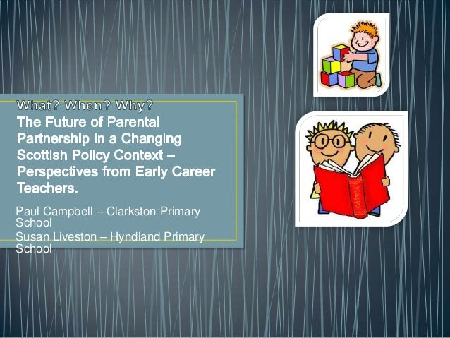 Paul Campbell – Clarkston PrimarySchoolSusan Liveston – Hyndland PrimarySchool