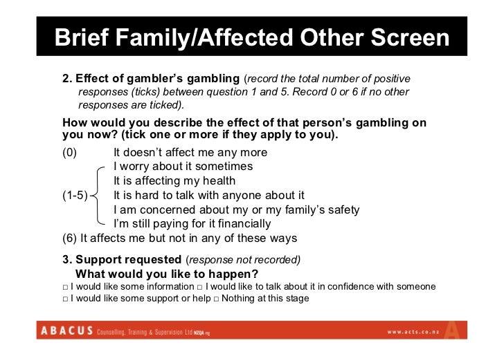 Gambling terms fade