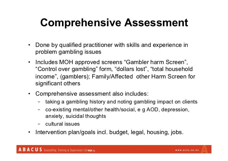 Assessment gambling online gambling yahoo answers