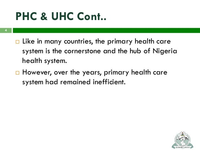 challenges of primary health care in nigeria pdf
