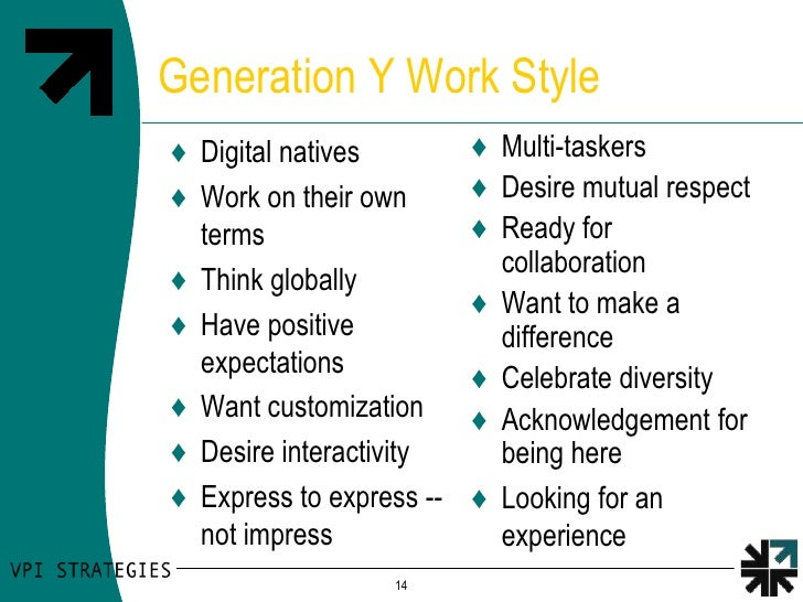 gen y motivation needs Human resources, millenials, generation y, generation z, how to motivate  millenials comments  retention programs to suit the needs of this generation.