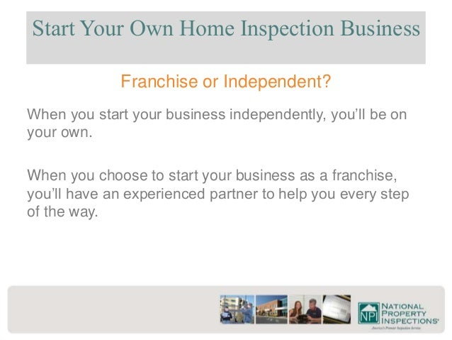 National Property Inspections Franchise Information