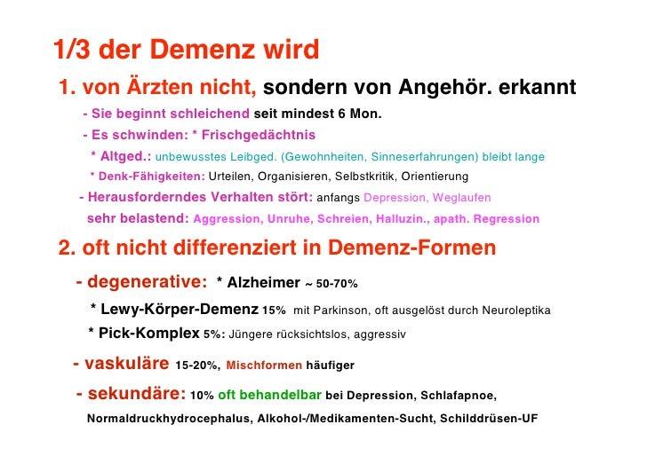 Pflege bei Menschen mit Demenz Slide 3