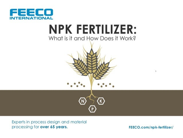 Npk Fertilizer  What Is It And How Does It Work