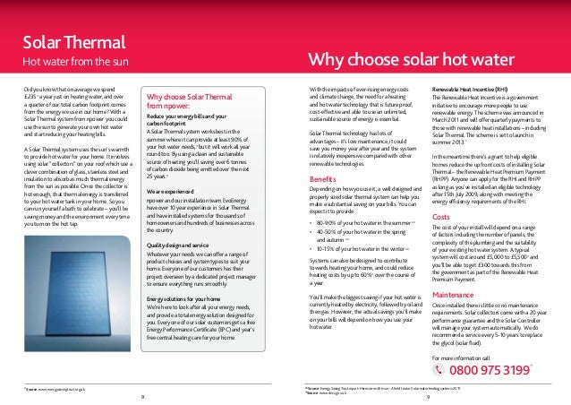 Solar ThermalHot water from the sun                                                                                       ...