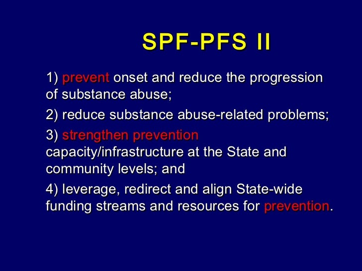 the effects of the decline of federal funding for the treatment and prevention of substance abuse Federal public safety funding the in-person drug treatment supported by the residential substance abuse treatment 4 the impact of federal budget cuts on state.