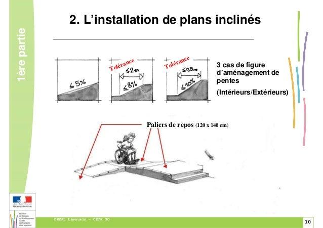 Guide de l 39 accessibilit pour les erp exer ant dans l for Norme escalier exterieur public