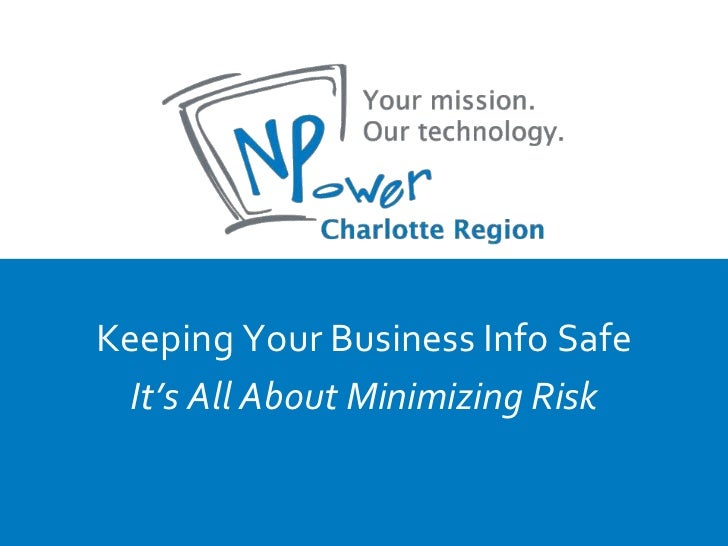 Data Security for Nonprofits