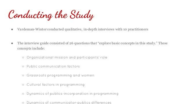 Nonprofit Public Relations Case Study