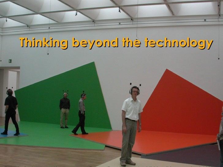 Fraunhofer Institute, Kunstmuseum Bonn:  'Beat Zoderer' exhibition (Listen project) 2003 Fraunhofer Institute, Kunstmuseum...