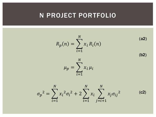 ... N PROJECT PORTFOLIO (c1); 4.