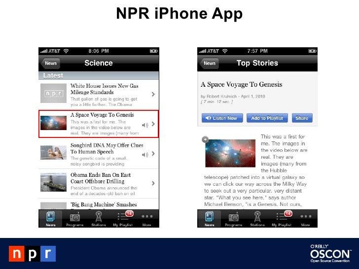 NPR iPhone App