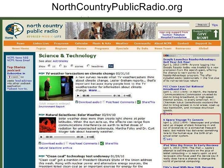 NorthCountryPublicRadio.org