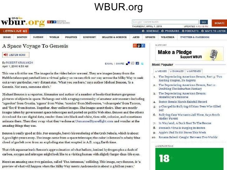 WBUR.org