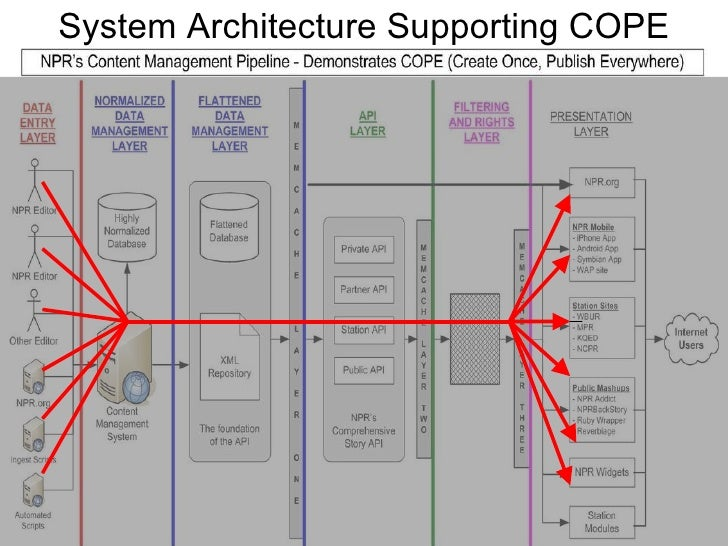 System Architecture Supporting COPE